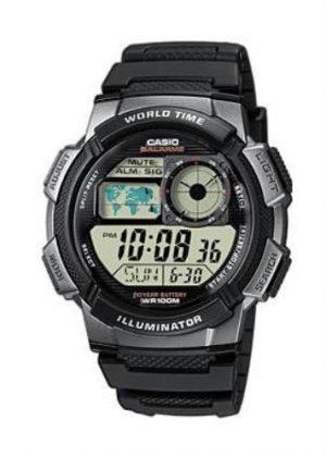 CASIO Mens Wrist Watch MPN AE-1000W-1B