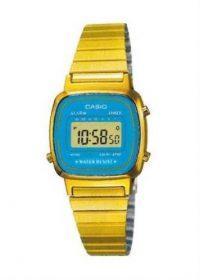 CASIO Ladies Wrist Watch MPN LA-670WGA-2