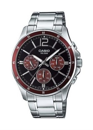 CASIO Mens Wrist Watch MPN MTP-1374D-5A