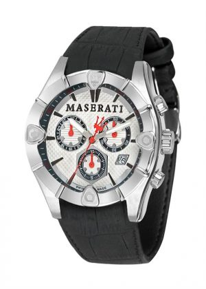MASERATI Mens Wrist Watch Model MECCANICA MPN R8871611006