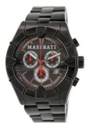 MASERATI Mens Wrist Watch Model MECCANICA MPN R8873611001