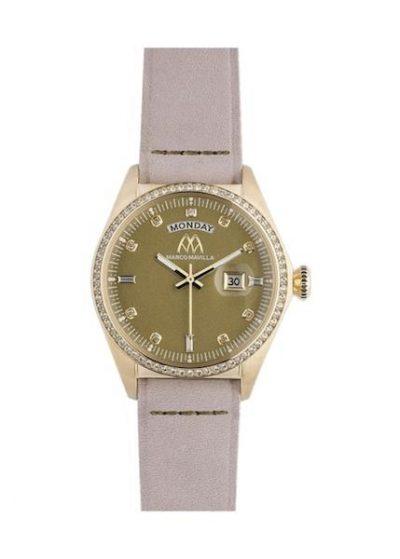 MARCO MAVILLA Ladies Wrist Watch Model CRYSTAL MPN VE2OGG001