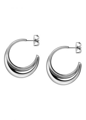 CALVIN KLEIN EARRINGS MODEL FLUID MPN KJ3XME000100