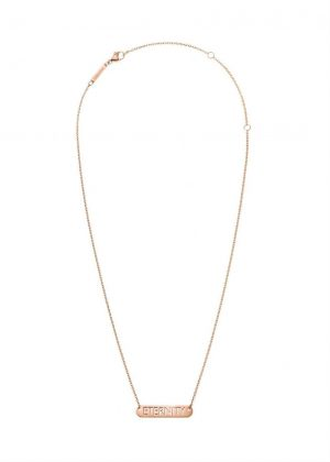 CALVIN KLEIN NECKLACE MODEL MESSAGE MPN KJ7CPN100100
