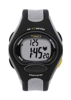 TIMEX Unisex Wrist Watch Model HEART RATE MONITOR MPN T5C351