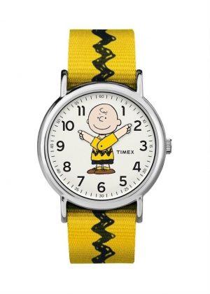 TIMEX Unisex Wrist Watch Model PEANUTS - CHARLIE BROWN MPN TW2R41100
