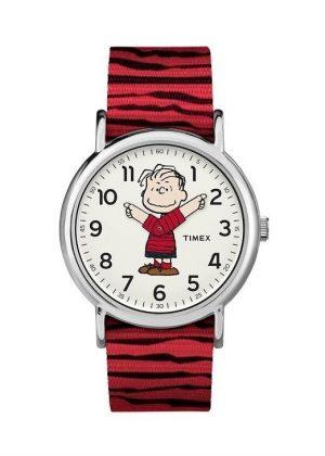 TIMEX Unisex Wrist Watch Model PEANUTS - LINUS MPN TW2R41200