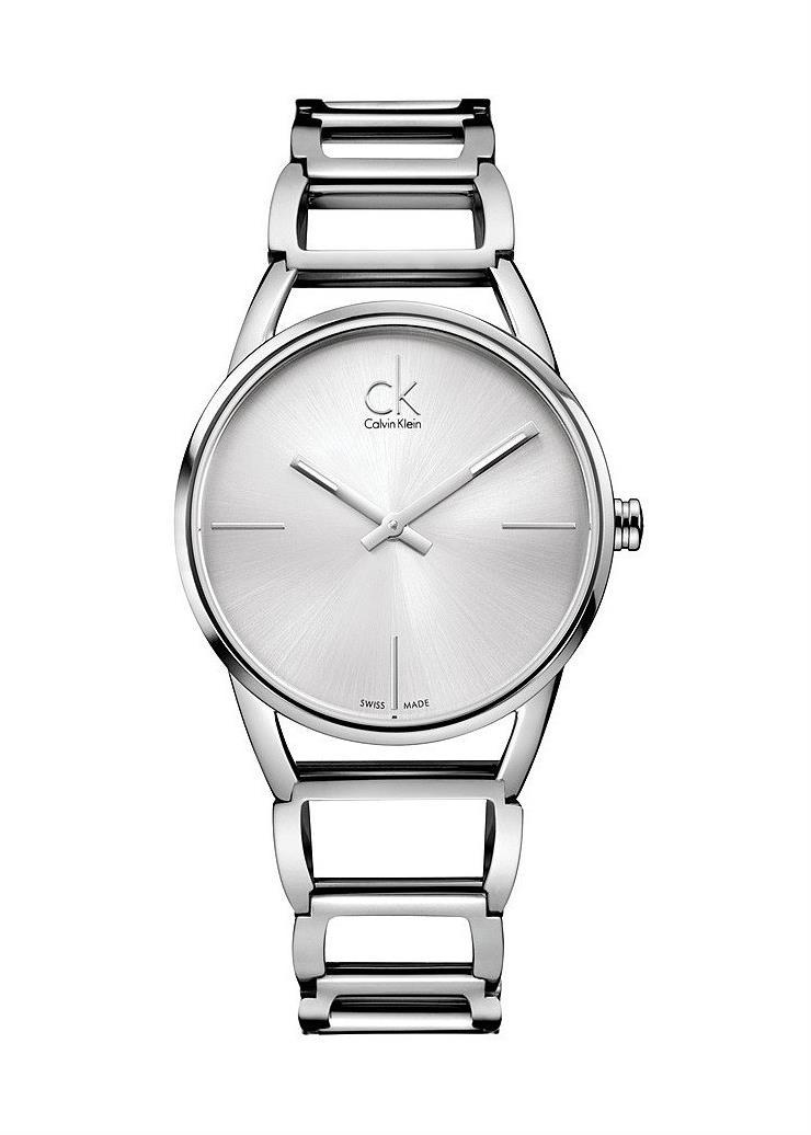 CK CALVIN KLEIN Ladies Wrist Watch Model STATELY K3G23126