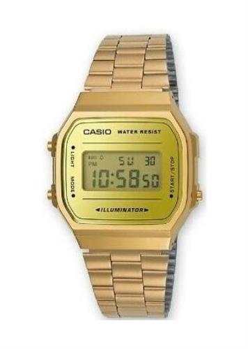 CASIO Unisex Wrist Watch A168WEGM-9E