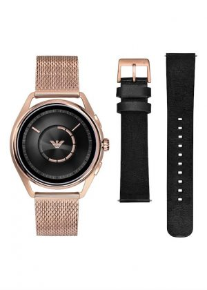 EMPORIO ARMANI CONNECTED SmartWrist Watch Model Special pack + Extra Strap ART9005