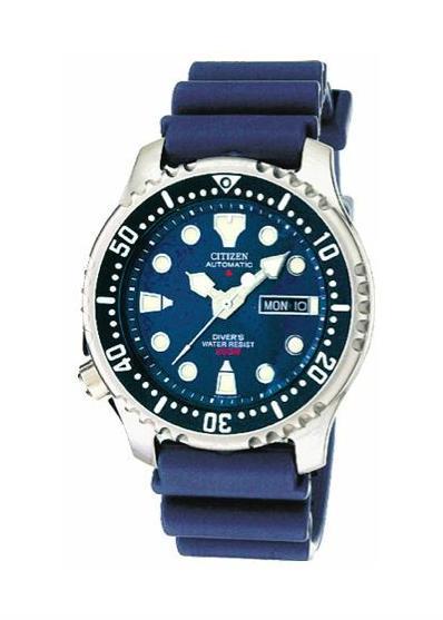 CITIZEN Gents Wrist Watch Model Divers Automatic 200 mt NY0040-17L