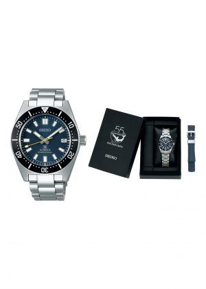 SEIKO Gents Wrist Watch Model PROSPEX 1965 - 55th ANNIVERSARY Special Pack + Extra Strap SPB149J1