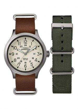 TIMEX Gents Wrist Watch Model EXPEDITION SCOUT Special Pack + Extra Strap TWG016100