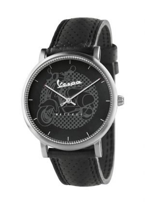 VESPA Gents Wrist Watch Model CLASSY VA-CL01-SS-23BK-CP
