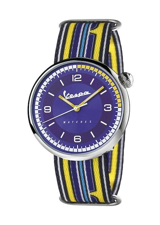 VESPA Unisex Wrist Watch Model IRREVERENT VA-IR01-SS-04BL-CT