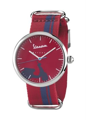 VESPA Unisex Wrist Watch Model IRREVERENT VA-IR03-SS-07RD-CT