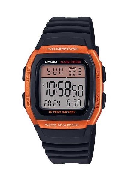 CASIO Unisex Wrist Watch Model ILLUMINATOR 10 YEAR BATTERY W-96H-4A2