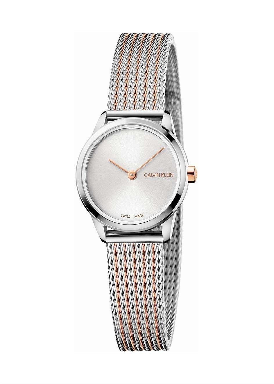 CK CALVIN KLEIN Ladies Wrist Watch Model MINIMAL K3M23B26